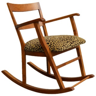 Swedish Art Moderne Rocking Chair