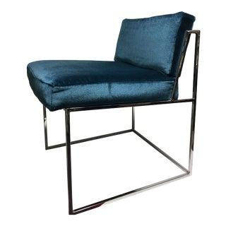 Milo Baughman for Thayer Coggin Mohair Chair