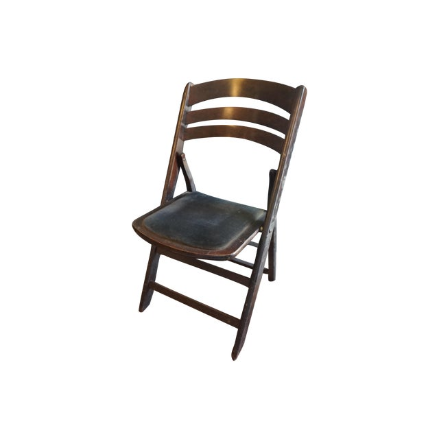 Vintage Folding Chairs - Set of 4 - Image 1 of 4