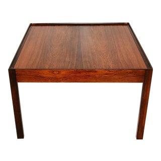 Danish Modern Side Table in Rosewood