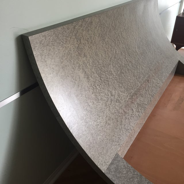 Image of Custom Made Veneer Finished Queen Size Bed