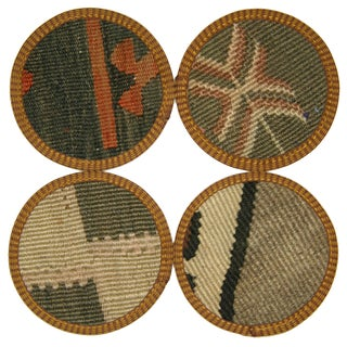 Osmaniye Kilim Coasters - Set of 4