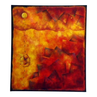 Abstract Contemporary Oil Painting