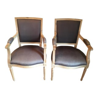 Upholstered Occasional Chairs - A Pair
