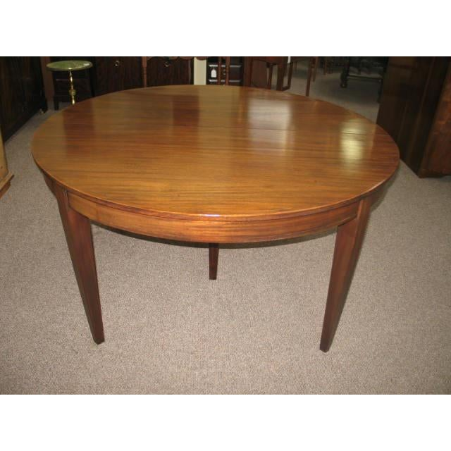 Antique Extending Mahogany Dining Table - Image 7 of 11
