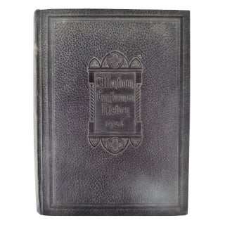 1926 Allentown Conference Hardcover History Book