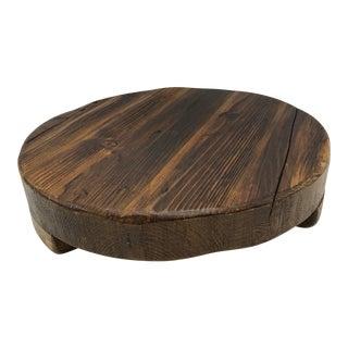 Etu Home Rustic Reclaimed Wood Large Trivet