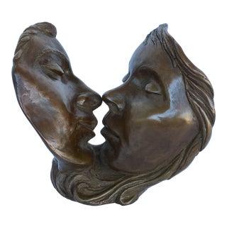 Mike Alfano Kiss Sculpture