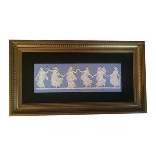 Antique Wedgewood Jasperware Dancing Hours Plaque