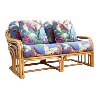Vintage McGuire style Bamboo Sofa