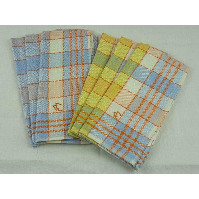 Multicolor Linen Monogrammed Towels - Set of 6 - Image 2 of 6