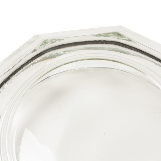 1960s Italian Crystal Decagonal Bowls - A Pair - Image 8 of 8