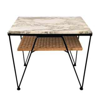 Maurizio Tempestini for Salterini Marble-Top Side Table