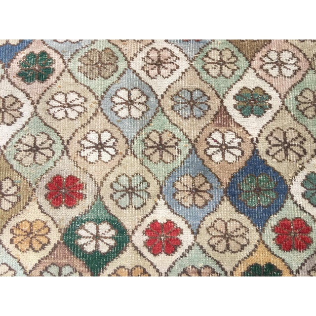 "Bellwether Rugs Vintage Turkish Zeki Muren Rug - 5'9""x7'5"" - Image 6 of 8"
