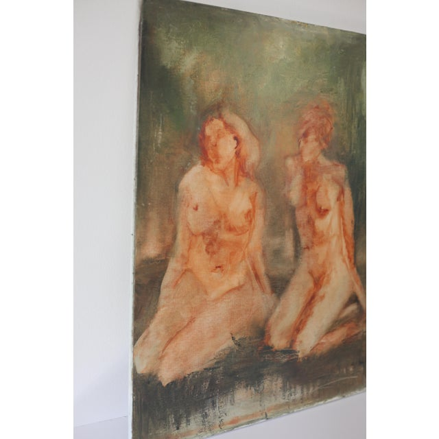 "Image of ""Sisterhood"" Impressionist Nude Painting"