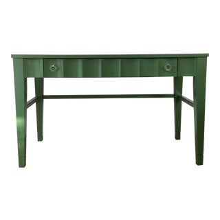 Emerald Green Accent Desk