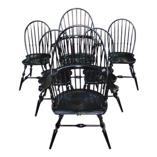 Stephen Adams Hand Made Windsor Dining Chairs - Set of 6