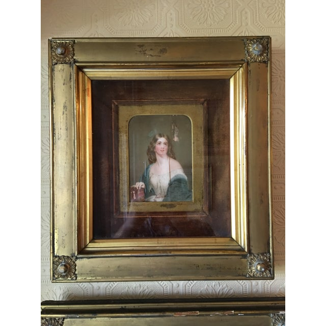 19th Century Oil on Ivory Painting - Image 4 of 7