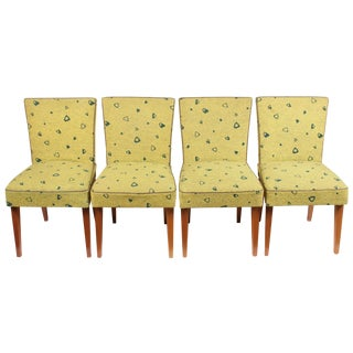 Budapest Mid Century Modern Chairs - Set of 4
