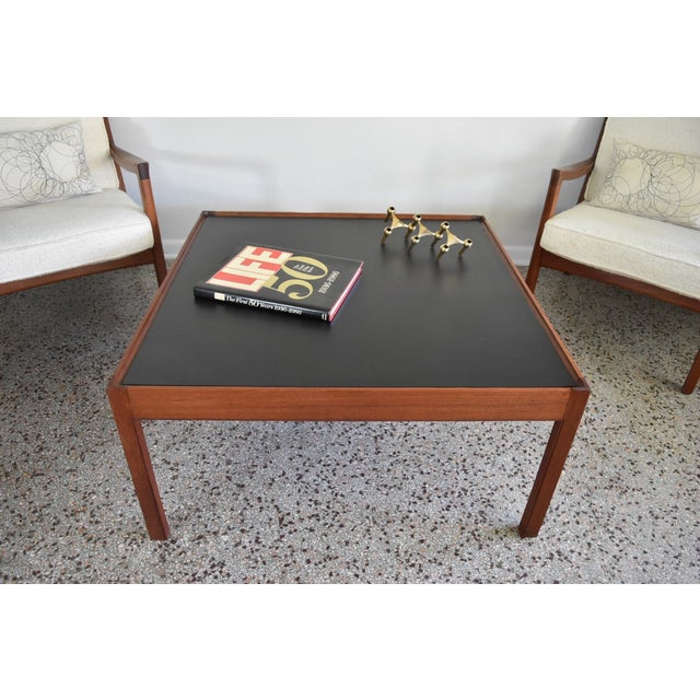 Mid-Century Danish Modern Teak Coffee Table - Image 3 of 8