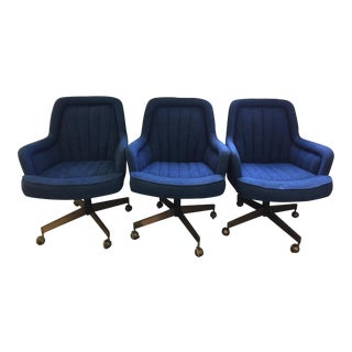 Mid Century Swivel Chairs Style of Max Pearson - S/3