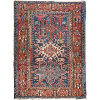 "Apadana - Antique Persian Heriz Rug, 3'5"" x 4'7"""