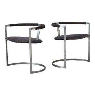Preben Fabricius & Jorgen Kastholm Sculpture Chairs for BO-EX