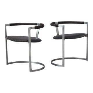 Preben Fabricius & Jorgen Kastholm Sculpture Chairs for BO-EX