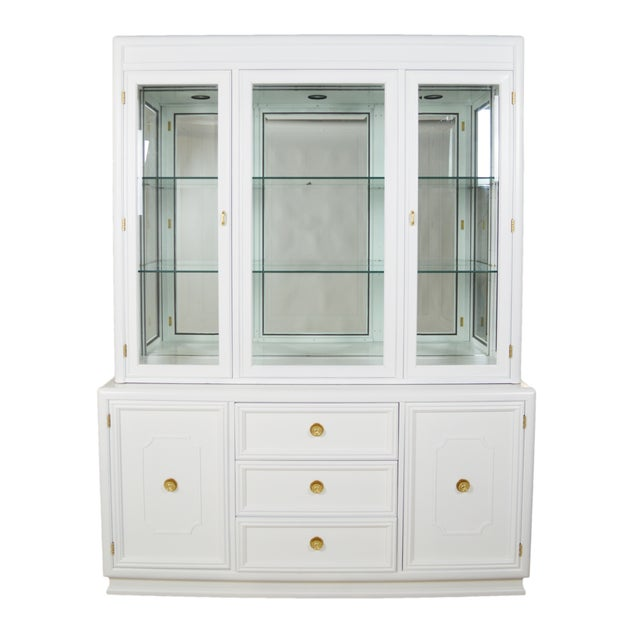 Thomasville Hollywood Regency-Style Cabinet - Image 1 of 6