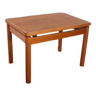 Trioh Denmark Mid-Century Modern Teak Side Table