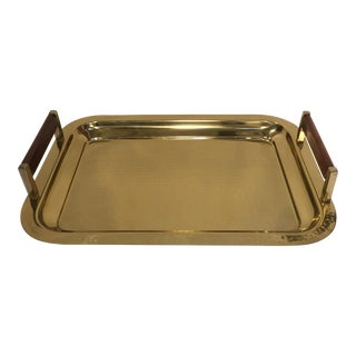 Hammered Brass Color Tray