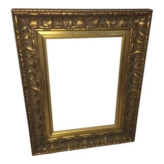 Wood & Gesso Gold Frame