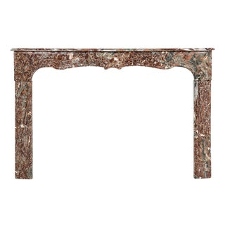 Belle Epoque Marble Fireplace Mantel