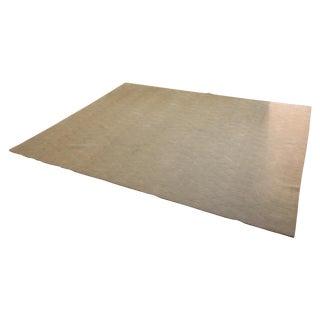 Stark Gray Wool Rug - 8′ × 10′
