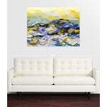 """Image of Ocean Painting """"Moon Tide"""" Acrylic on Canvas"""