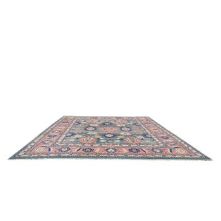 16'x19'8'' Vintage Persian Mahal Handmade Knotted Rug - Size Cat. 12x18 13x20 14x20 16x16 19x19