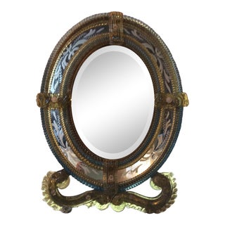 Antique Venetian Vanity Mirror