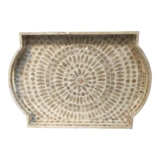 Capis Shell Inlaid Tray