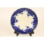"""Image of Flow Blue """"Roma"""" Luncheon Plate"""