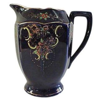 Japanese Hand Painted Pitcher