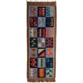 Traditional Handmade Runner Rug - 1′10″ × 5′