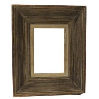 Modernist Heydenryk Nyc Mid-Century Wood Frame