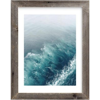 Ocean Wake Framed Photograph