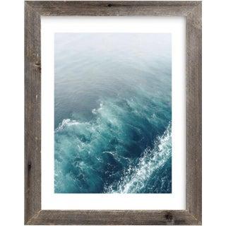 Ocean Wake Framed Photograph
