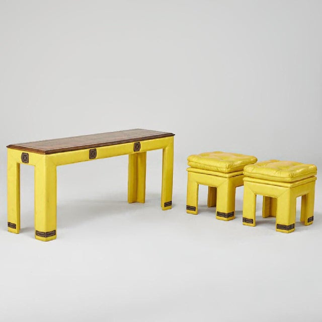 Adrian Pearsall 'Sunshine' Tables - Set of 3 - Image 3 of 7