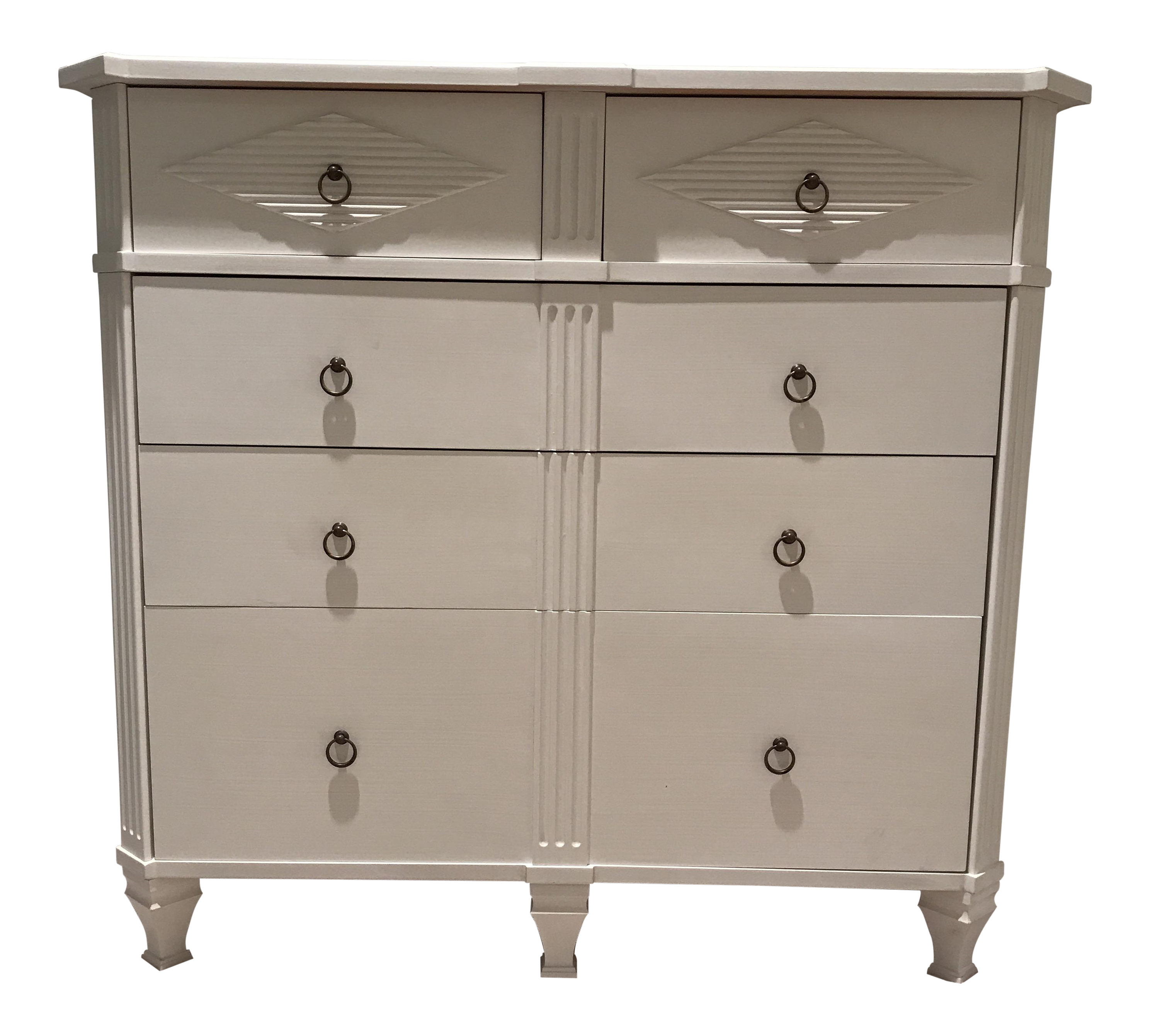 Gustavian Kristian 5 Drawer Chest