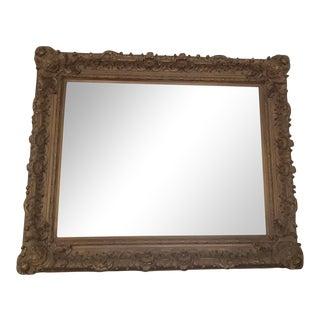 Gold Leaf Carved Mirror