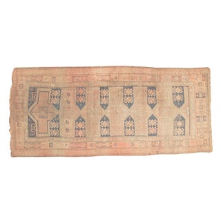 "Antique Caucasian Rug Runner - 3'7"" x 8'"
