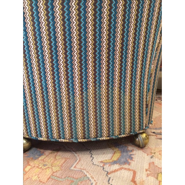 Vintage Reupholstered Club Chairs - A Pair - Image 5 of 9