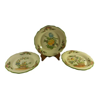 Jay Willfred Andrea By Sadek Porcelain Plates - Set of 3